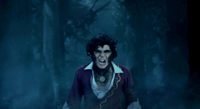 Aladdin turns into a werewolf