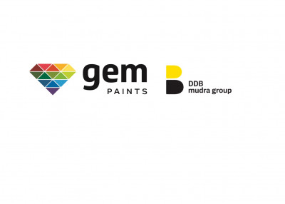 DDB Mudra South bags creative mandate for Gem Paints
