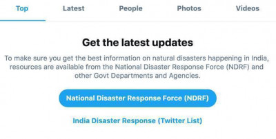 Twitter launches a dedicated search prompt in India