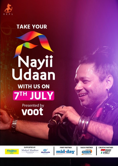 Voot and Kailash Kher come together to present Nayii Udaan
