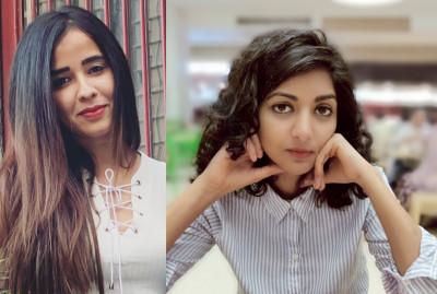 L-R: Chandani Samdaria; Nikita Goswami