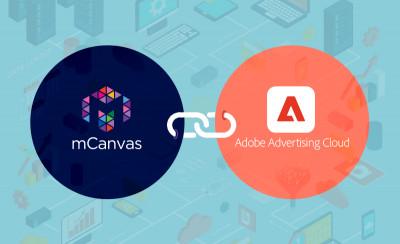 mCanvas Integrates with Adobe Advertising Cloud