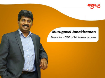 Murugavel Janakiraman, Founder and CEO, Matrimony.com