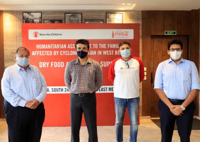 Coca-Cola India partners with Save the Children