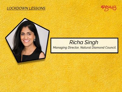 Richa Singh, Managing Director, Natural Diamond Counci