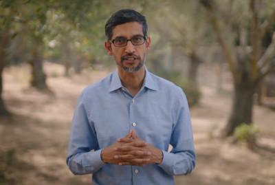 Sundar Pichai, CEO, Google and Alphabet