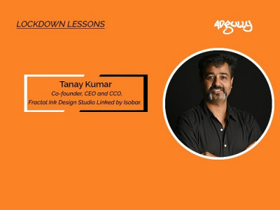 Tanay Kumar, Co-Founder, CEO & CCO, Fractal Ink Design Studio linked by Isobar