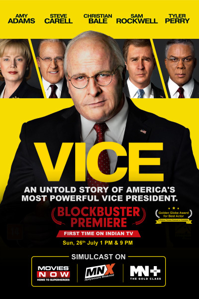 Vice makes an Indian television premiere on Movies NOW, MNX and MN+