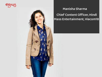 Manisha Sharma, Chief Content Officer, Hindi Mass Entertainment, Viacom18