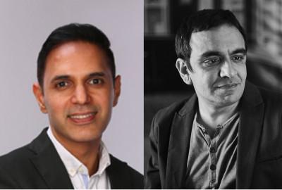 L-R: Manish Kalra, Amit Akali