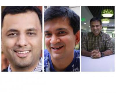 L-R: Gautam Thakar, Ashok Namboodiri, Rajiv Mathrani