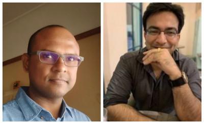 L-R: Venkat Potluri and Rohit Taneja, Founder & CEO Decentro