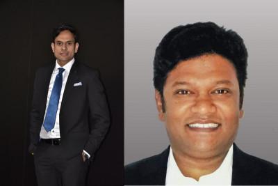L-R: Amit Thete; Pradeep Srinivas
