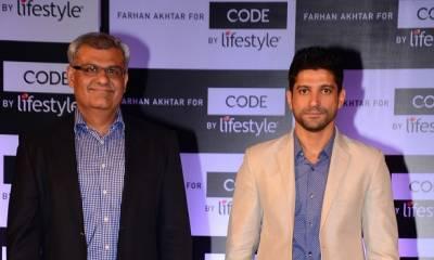 78cff99617 'Code by Lifestyle' signs Farhan Akhtar as Brand Ambassador
