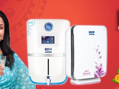 "Gift ""Health ka Double Dose"" this Diwali KENT RO introduces Diwali Special Range"