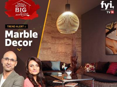 Celebrity interior designers Muninder and Vishakha tie up with FYI TV18 for Small Budget Big Makeover