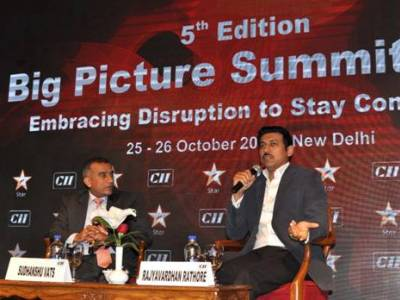 Govt will facilitate growth & innovation in M&E: Rajyavardhan Singh Rathore