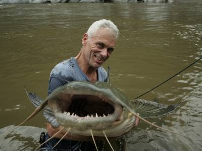 River Monsters' host and extreme angler Jeremy Wade to uncover  the world's largest, strangest and most dangerous fish