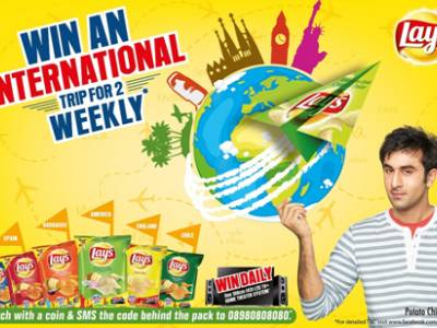 This Valentine's, love for Lay's will give you a chance to win an International trip!