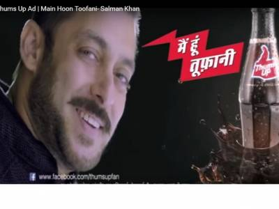 It's 'Thums down' as Coca Cola and Salman Khan part ways