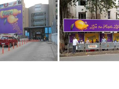 Posterscope India creates high decibel OOH campaign for Parle Agro's Frooti