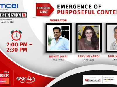 SCREENXX 2020 - Fireside Chat - Emergence of Purposeful Content