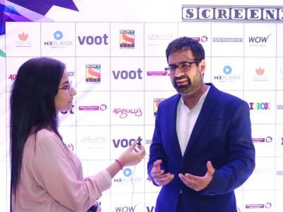 Mukul Chadda - Actor at SCREENXX_ Part 1