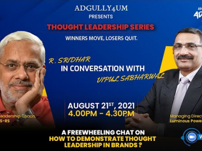 ADGULLY4UM Presents Thought Leadership Series