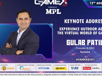 GAMEXX 2021 | Keynote Address | Experience outdoor ads in the virtual world of Gaming