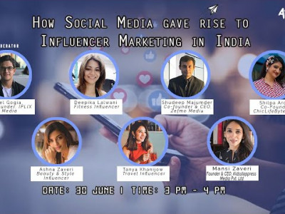 How Social Media gave rise to Influencer Marketing in India