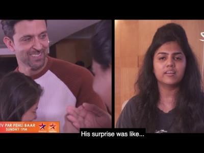 Hrithik Roshan meets his Super Fans (Super 30)