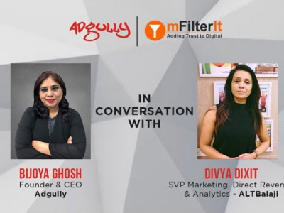 Video Knowledge Series | Divya Dixit - SVP Marketing, Direct Revenue and Analytics - ALTBalaji