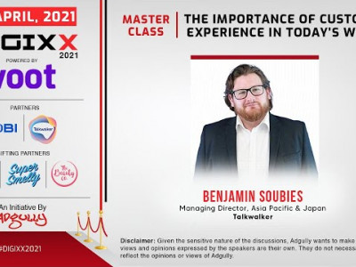 DIGIXX 2021 | MASTERCLASS | The Importance of Customer Experience in Today's World