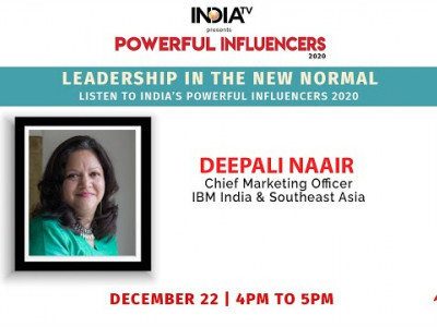 Powerful Influencers 2020 | Deepali Naair - Chief Marketing Officer - IBM India & Southeast Asia