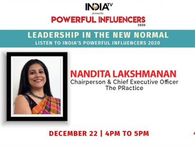 Powerful Influencers 2020 | Nandita Lakshmanan - Chairperson & CEO - The PRactice