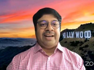 Mr. Pradeep Dwivedi, CEO, Eros International PLC