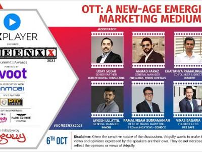 SCREENXX 2021 | PANEL 02 | OTT: A New-Age Emerging Marketing Medium