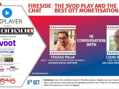 SCREENXX 2021 | Fireside Chat | The SVOD play and the best OTT monetisation model