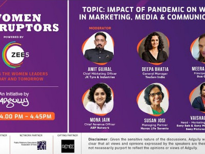 Women Disruptors 2021 | Panel 5 | Impact of pandemic on women in marketing, media and communications