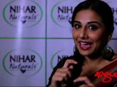 The Making | Vidya Balan urges women to choose Nihar Shanti Amla!