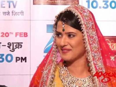 Adgully Exclusive | Kratika Sengar at the launch of Zee TV's fiction show, Punar Vivah
