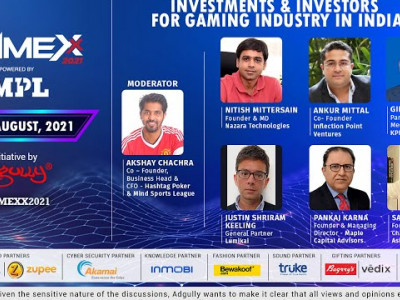 GAMEXX 2021 | Investments & Investors for Gaming Industry in India