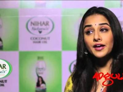 The Making | Vidya Balan brings her magic in the new Ad film shot for Nihar Naturals