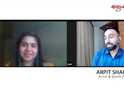 Adgully in conversation with Mr.Arpit Sharma - Actor & Sports Anchor
