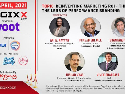 DIGIXX 2021 | Panel 01 | Reinventing Marketing ROI - Through the lens of performance branding
