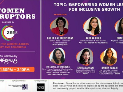 Women Disruptors 2021 | Panel 2 | Empowering women leaders for Inclusive growth