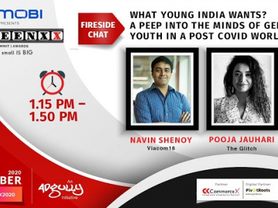SCREENXX 2020 - What Young India wants A peep into the minds of GenZ & Youth in a post Covid World