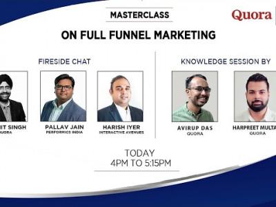 Masterclass on Full Funnel Marketing