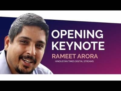 DMS 2019 | Opening Keynote | Rameet Arora