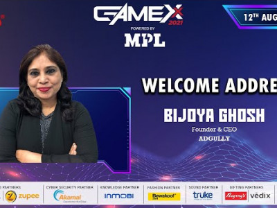 GAMEXX 2021 | OPENING SPEECH | Bijoya Ghosh, Founder & CEO, Adgully
